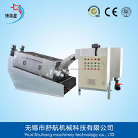 Food Processing Plant Sludge Dewatering Machine