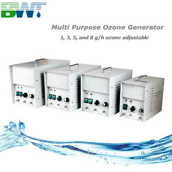 1-8g/h air purifier ozone sterilizer machines, water ozonator