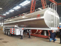CLW milk transport tank truck or other food tank / fuel tanker trailer truck ( volume optional) for sale