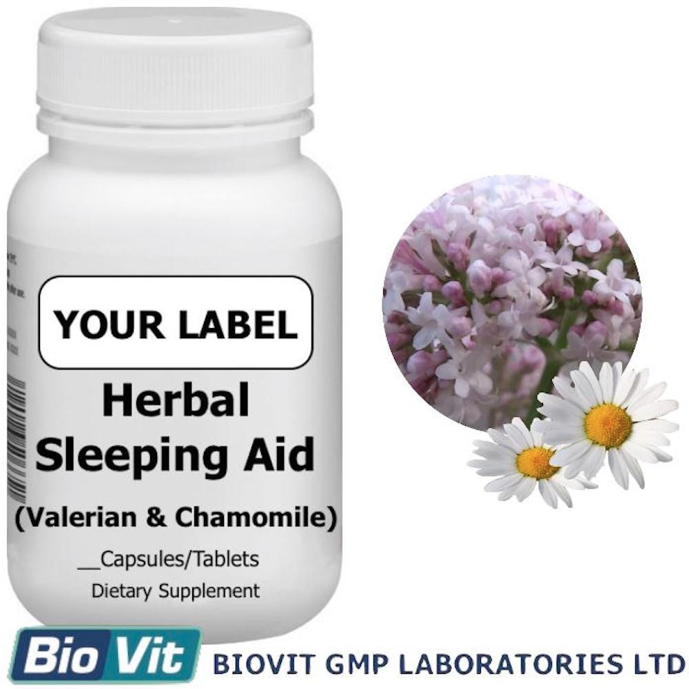 Herbal Sleeping Aid Capsules