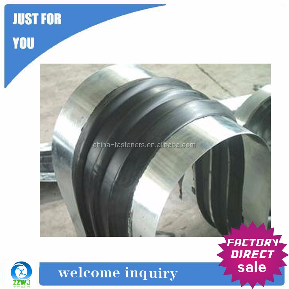 Steel Edged Water Expanding Rubber Waterstop Band