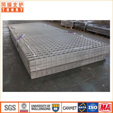 50mmx50mm hole sizes galvanized good quality rock roofing support welded wire mesh