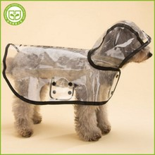 PDCR4 2017 new style fashionable pet dog raincoat