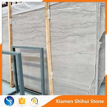 cheap special decorative silvery grey marble pieces with wooden black wein