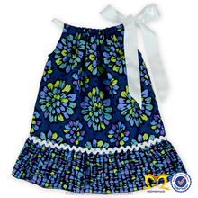Africa Wax Floral Printing Children Dress Fashion Latest Fancy Baby Cotton Dress Stitching Designs Kids Boutique Dress Photo Who