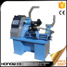 Manual level control,with hydraulic, Aluminum alloy straighting machine With LATHE System