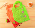 Foldable bag 100% polyester lady shopping tote bag