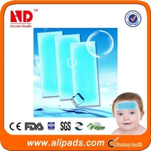 fever cooling sheet forehead fever gel patch for sale