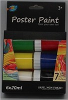 6ct 20ml poster paint