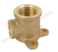 brass pipe fitting Brass elbow 90 fitting drop ear elbow forged OEM