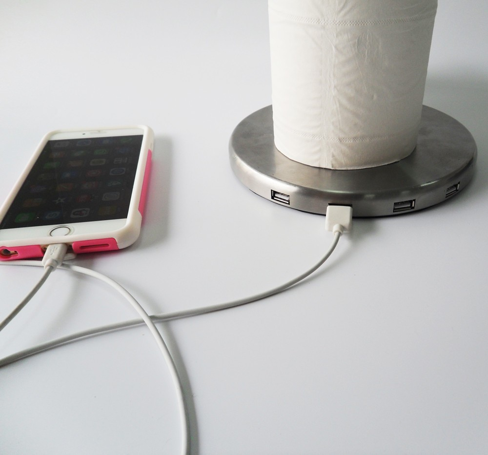 Napkin Holder With Usb Charger Buy Multi Fonction Napkin