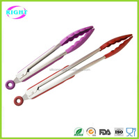 Silicone serving tong/kitchen tong/BBQ tong