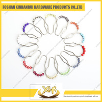 Wholesale custom shower curtain ring with colored beads