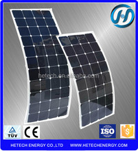 thin film solar panel flexible hot sales Flexible solar module 100w