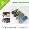 Super thin mini cell phone charger rechargeable gift power bank