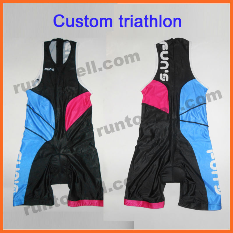 2013 custom design Lycra triathlon clothes / triathlon suits / triathlon suit women