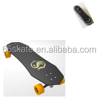 Sixty six Remote Control Electric Skateboard with Glass Fiber Hybrid Deck 1000w