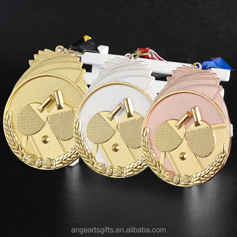 Table Tennis Medal tennis de table medal Association of Table Tennis champion medals