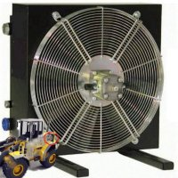 Hydraulic motor cooler for Mobile and Oil & Gas use with maximum cooling capacities of up to 215 HP