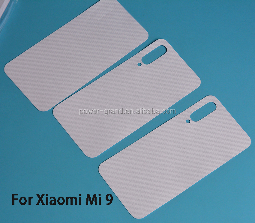 Vinyl Carbon fiber Back protective skin sticker film for Xiaomi Mi 9