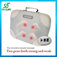 New Car Seat Chair Massage Back Lumbar Support Cushion Pad