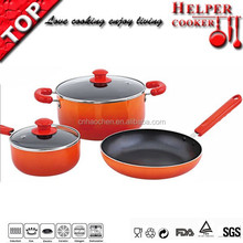 new products china porcelain cookware with cheap round pan