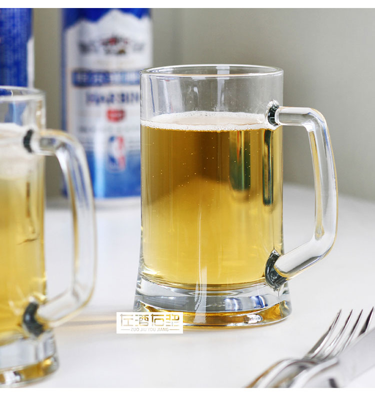 Clear glass beer stein,glass beer tarkand,German beer glass.
