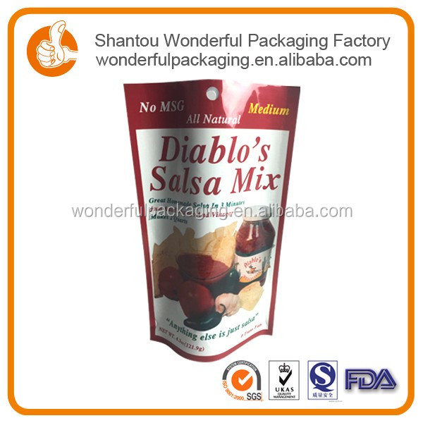 Food packaging zip bag plastic chocolate sachet with retail plastic heating bag for chocolate