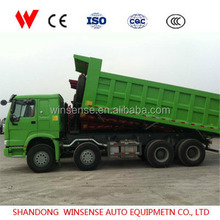 Heavy Duty China Sinotruk Howo 6x4 Dumper Truck For Africa Market