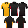 CP1701 2019 Free Sample Polo Contrast T-shirt Polo for Promotion,Sports Polo with Dri-fit mesh fabric