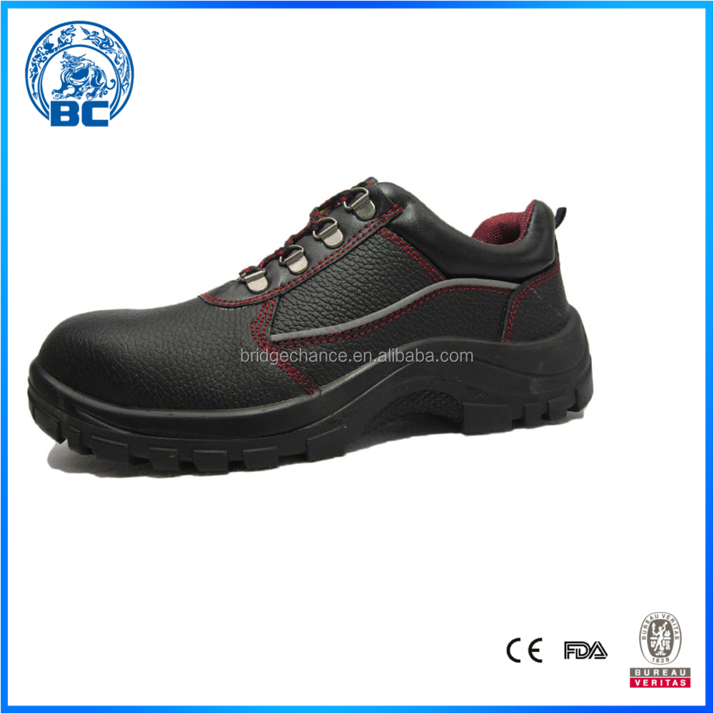 New Fashionable Genuine Leather Factory Price Safety Shoes For Mens Work