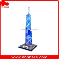 DIY 3d puzzle foam puzzle Bank of China Tower (China)