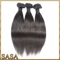 Directly factory cheap price indian hair, top grade unprocessed 100% human hair ponytail