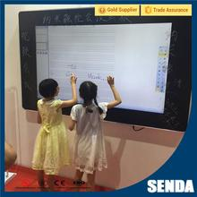 Brand New Outdoor Standing Wooden A Blackboard with High Quality