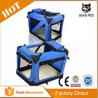 Heavy duty wire dog crate