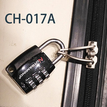 CH-017A 3 digit luggage number code lock
