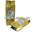 Food grade aluminum foil pouch side gusset coffee bag