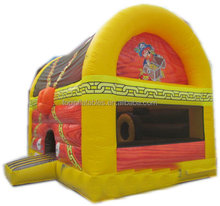 Good service bouncy water jumping castle inflatable bouncer slide with high quality