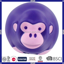 Promotional soft anti-stress pu monkey