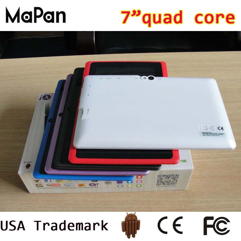 best quality quad core android 4.4 mini laptop/ MaPan china brand 7 inch android tablet with stylus