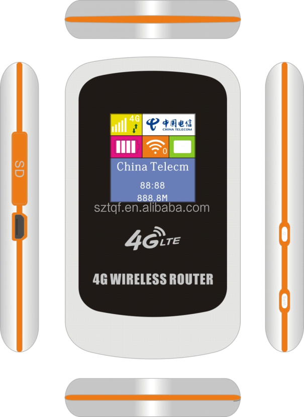 Vehicle WiFi 3g 4g Access <strong>point</strong>/router