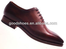 Fancy design goodyear men genuine leather dress shoes 2014