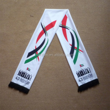 UAE National Day transfer printing knitted Scarf