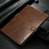 Luxury Classic Wallet Leather Case For iPad mini 4 Business Card Stand Case For iPad mini 4 Leather case