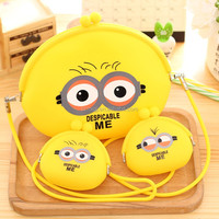Trendy Cheap Wholesale silicone coin wallet/purse,Food grade,Fashion