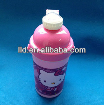 105464 LOVERLY HOLLE KITTY TRAVEL BOTTLE WITH COVER