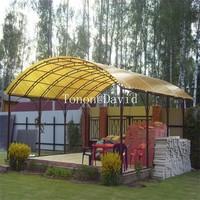 foshan tonon polycarbonat panel manufacturer sun shade sheet made in China