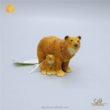 Low Price Wholesale Chinese Animal Figurine Brands Resin Big Bear Statue Figurine