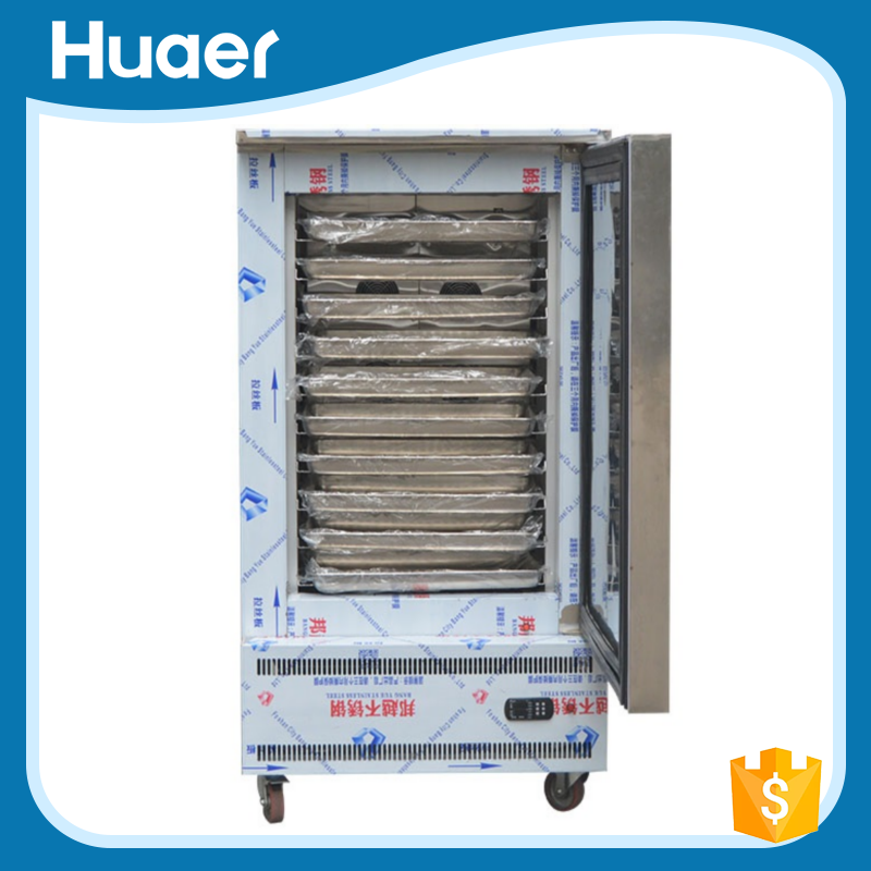 commercial restaurant stainless steel 2 doors upright fridge deep freezer /industrial freezer
