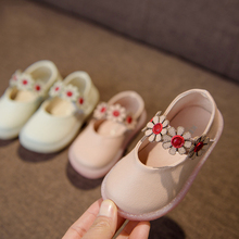 2018 Hot Sale New Spring Children's Girl Flower Super Soft Bottom Walker Baby Princess Kid Shoes Wholesale